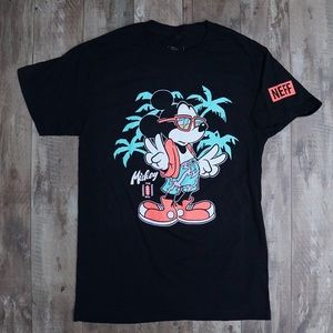 "Disney by Neff Mickey Mouse ""Cool Mickey"" T-Shirt"